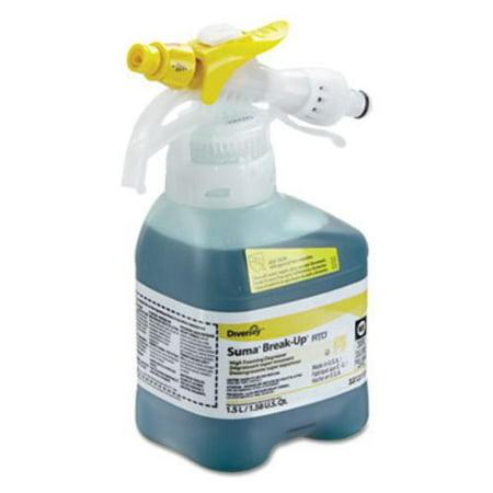 Johnson Diversey DRK3313117 Suma Break-up Heavy-duty Foaming Grease-release Cleaner, 1500ml Bottle, 2/ct Johnsondiversey Floor Science