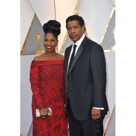 Denzel Washington Pauletta Washington At Arrivals For The 89Th Academy Awards Oscars 2017 - Arrivals 2 The Dolby Theatre At Hollywood And Highland Center Los Angeles Ca February 26 2017 Photo By Eliza - Academy Awards Theme