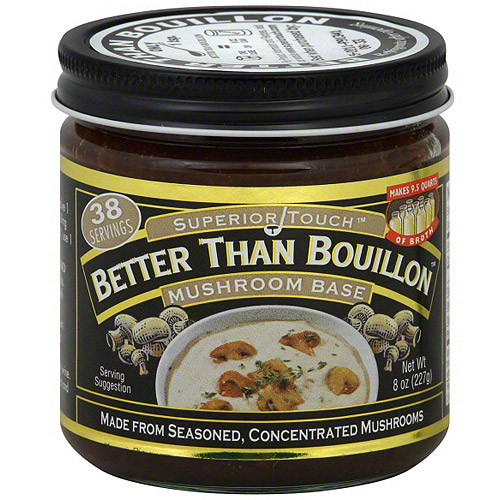 Superior Touch Better Than Bouillon Mushroom Base Broth, 8 oz (Pack of 6)