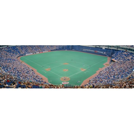 Hubert H Humphrey Metronome Twins v Blue Jays Minneapolis Minnesota Canvas Art - Panoramic Images (27 x 9)