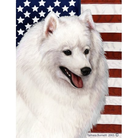 Japanese Spitz -  Best of Breed Patriotic II Garden