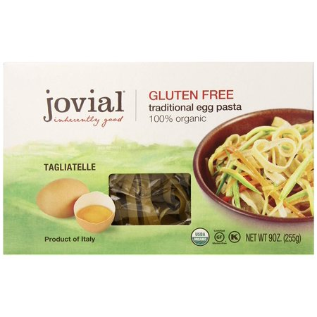 Foods Organic Gluten Free Traditional Egg Pasta, Egg Tagliatelle, 9 ounce Jovial - 1