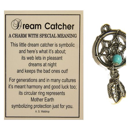 Ganz Tiny Little Dream Catcher Pocket Charm With Story Card Magnificent Dream Catcher Necklace Meaning