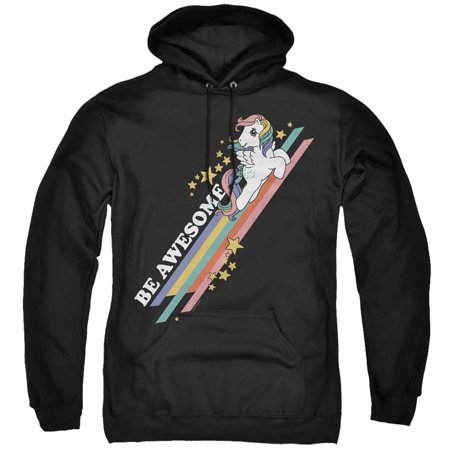 My Little Pony Retro - Be Awesome - Pull-Over Hoodie - X-Large