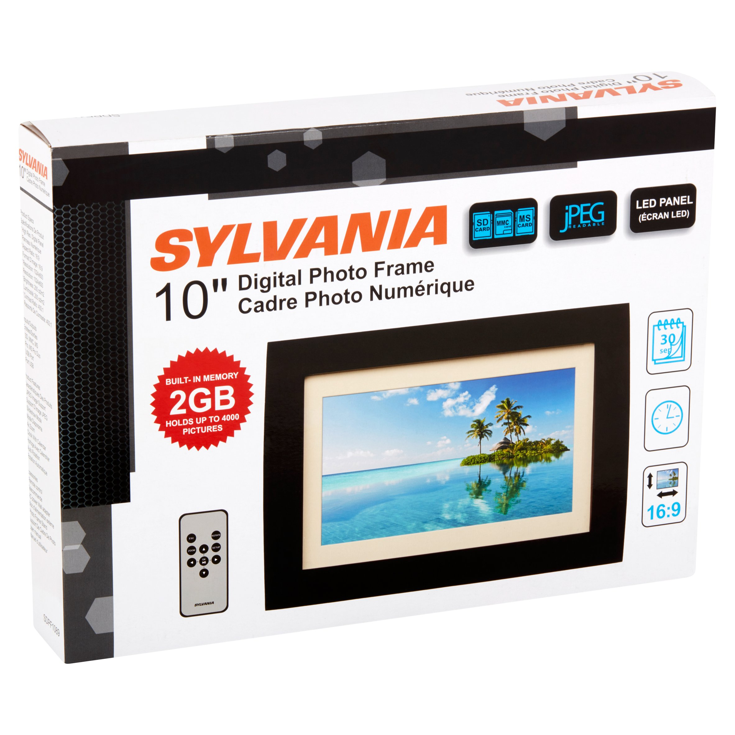 Best of Sylvania 10 Inch Digital Photo Frame