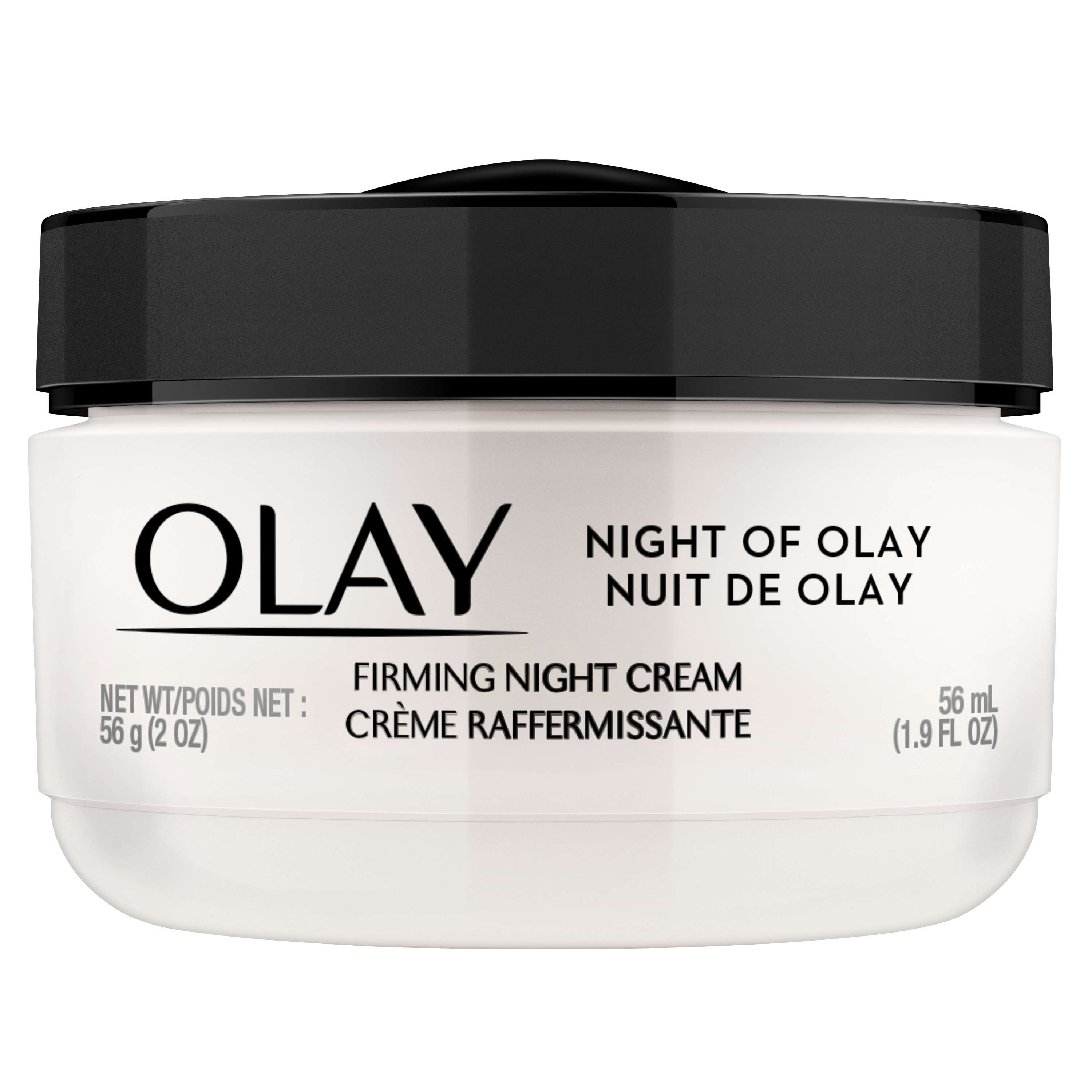 Night of Olay Firming Night Cream Face Moisturizer, 1.9 oz