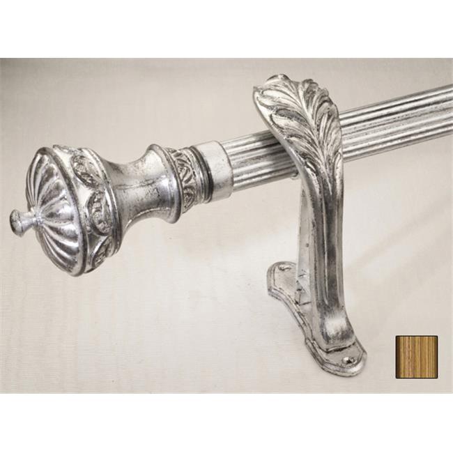 WinarT USA 8. 1097. 45. 30. 280 Palas 1097 Curtain Rod Set - 1. 75 inch - 110 inch