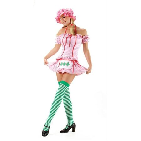 Costumes For All Occasions Ua8411Md Strawberry Doll Medium Adult