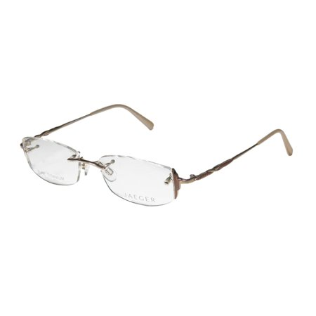 Jaeger Rimless Glasses : New Continental Eyewear Jaeger 246 Womens/Ladies Designer ...