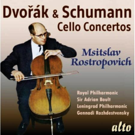 - Dvorak: Cello Concerto; Schumann: Cello Concerto - Mstislav Rostropovich Sir Adrian Boult Gennady Rodzedvensky Leningrad Orchestra Royal ...