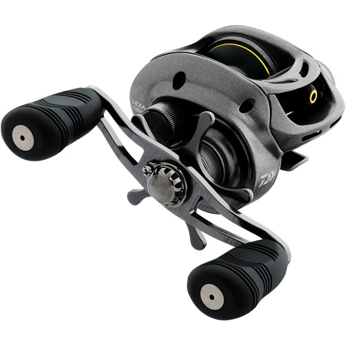 Daiwa Lexa 100 Standard Speed Baitcasting Reel, 6 1 Ball Bearings, 14 lbs/120 yds
