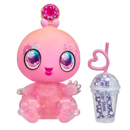 Goo Goo Galaxy Single Doll Pack, Astra Nommy - 5.5 inch Small Doll with Squeezer belly and DIY Slime activity