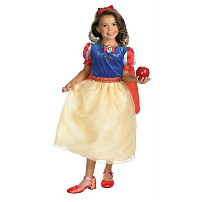 Costumes For All Occasions DG50568L Snow White Dlx Child 4X-6X