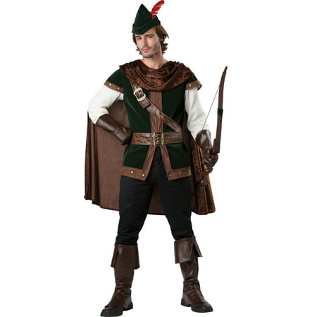 Robin Hood Medieval Warrior Prince Of Thieves Renaissance Adult Mens Costume-M