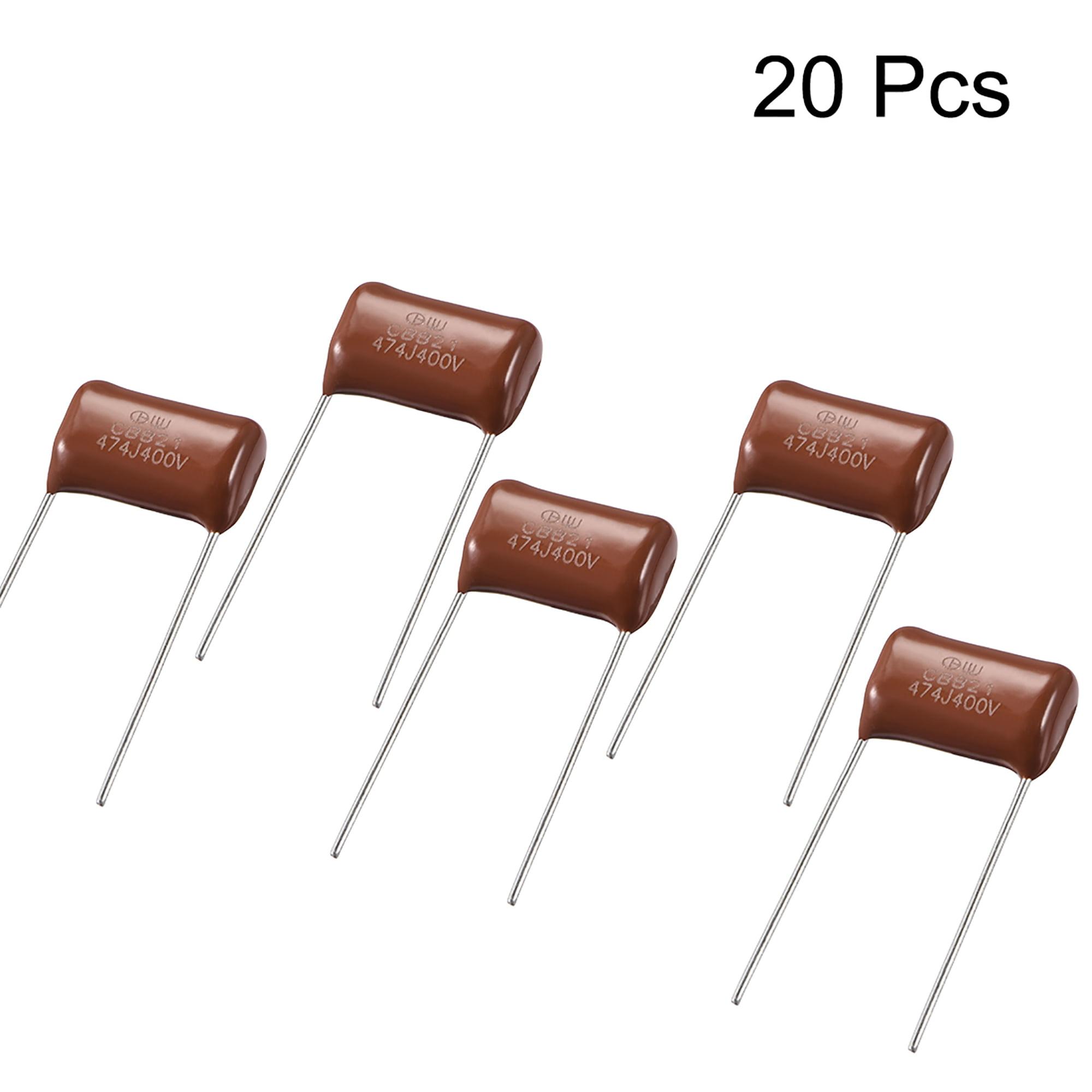 CBB21 Metallized Polypropylene Film Capacitors 400V 0.47uF 20pcs - image 1 of 3