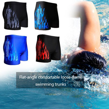 Men's Boxer Briefs Swimming Swim Shorts Trunks Swimwear Beach Pants Underwear - image 2 of 6