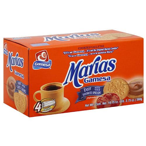 Gamesa Marias Cookies, 19.7 oz (Pack of 12)