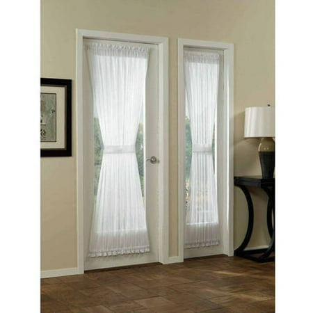 Mainstays Marjorie Door Curtain Panel, - Two Tone Door Panel