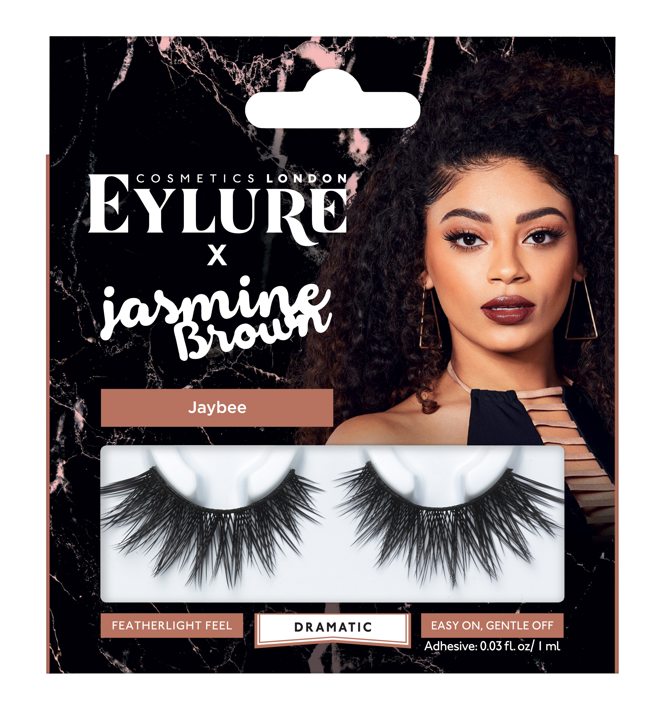 3b41ffa10f9 Eylure Jasmine Brown JayBee False Eyelashes - Walmart.com