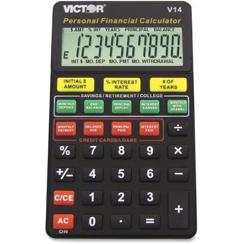 Victor V14 Personal Financial Calculator