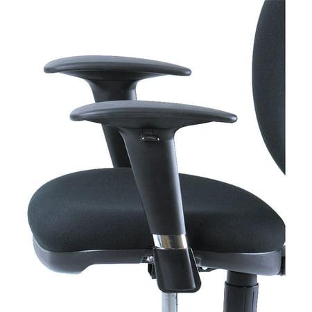 Safco, Metro Extnd-height Chair Adjustable Arm Kit, Black ()