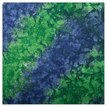 Tie Dye Bandannas-Blue/Green