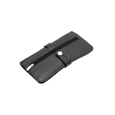 4eb0a0ba9147 Paul&Taylor - Womens Clutch Wallet Slim Button Snap Closed Genuine ...