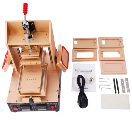 Zimtown 5-in-1 LCD Touch Screen Frame Separator Glue Removal Cellphone Repair Machine for iphone 4 4S 5 5S 6 6S, 110V