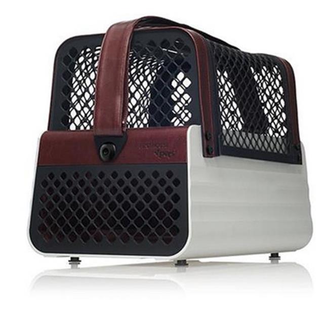 Schoochie Pet 10007 Pro Line Penthouse Casablanca Dog Crates, Tan & Grey