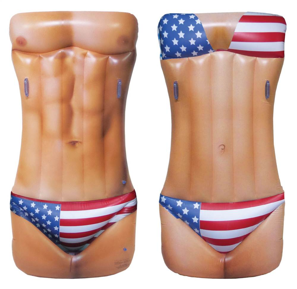 Hot Body Double Sided Pool Float