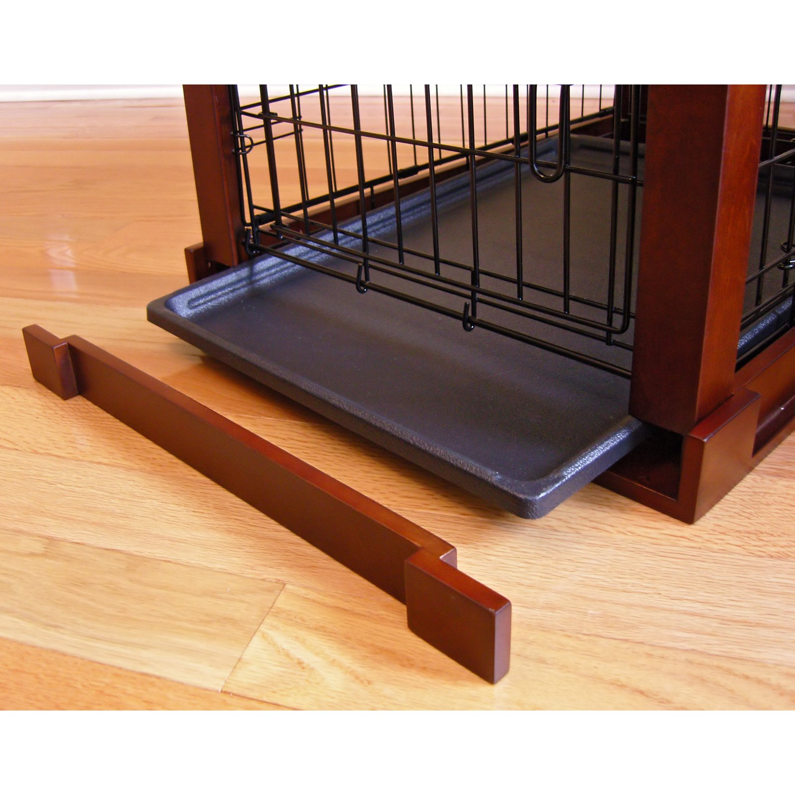 Good Merry Products End Table Pet Crate With Cage Cover   Walmart.com
