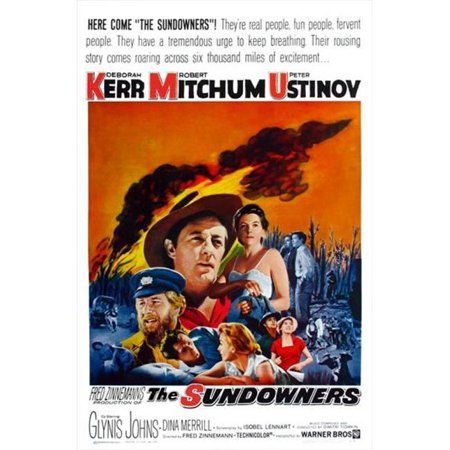 Posterazzi MOVEJ3239 The Sundowners Movie Poster - 27 x 40 in. - image 1 of 1