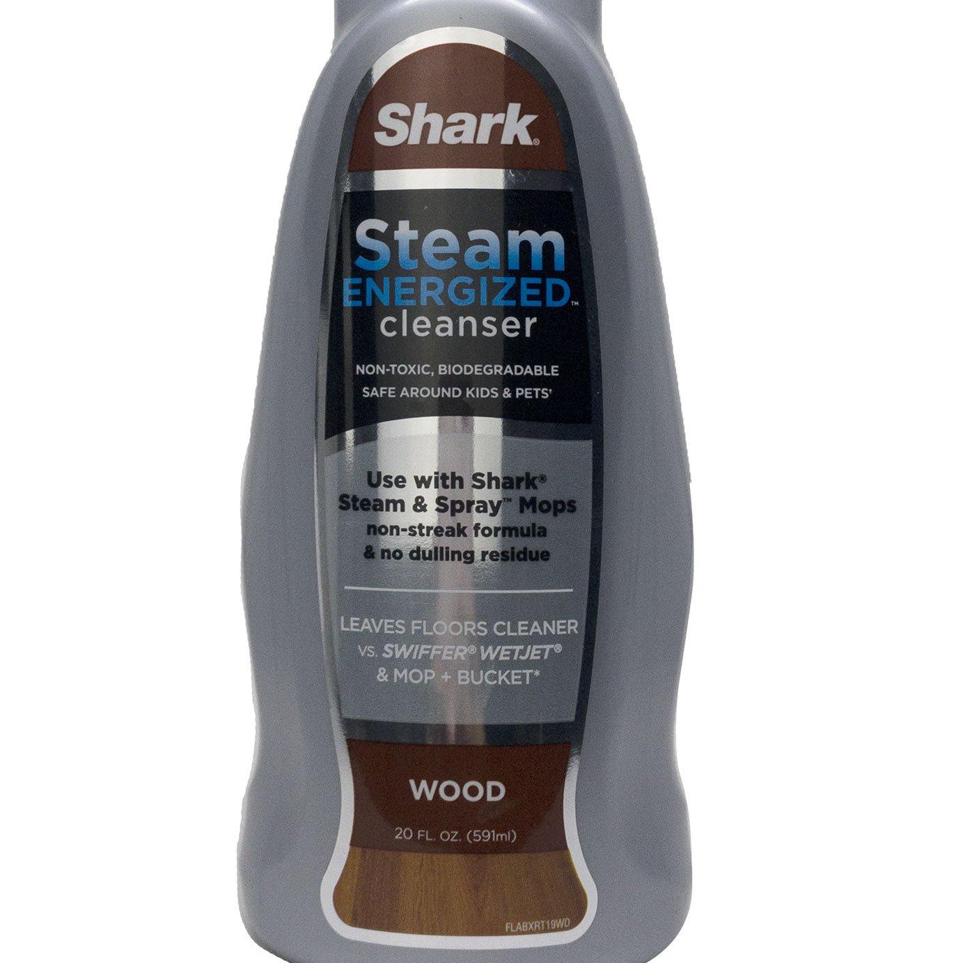 Shark Ninja Steam Energized Wood Floor Cleanser for Steam & Spray Mop (2 Pack) - image 5 de 6