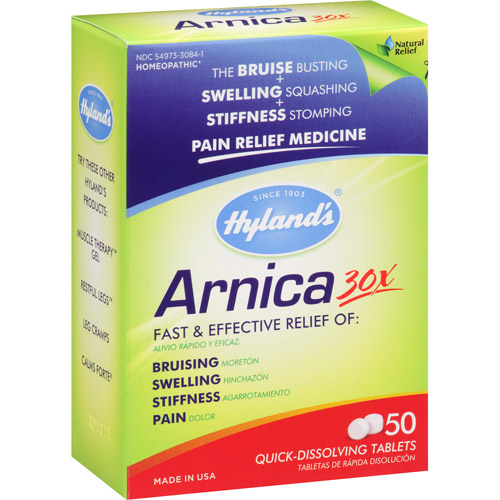 Hyland's Arnica 30x Pain Relief Medicine Tablets, 50 count