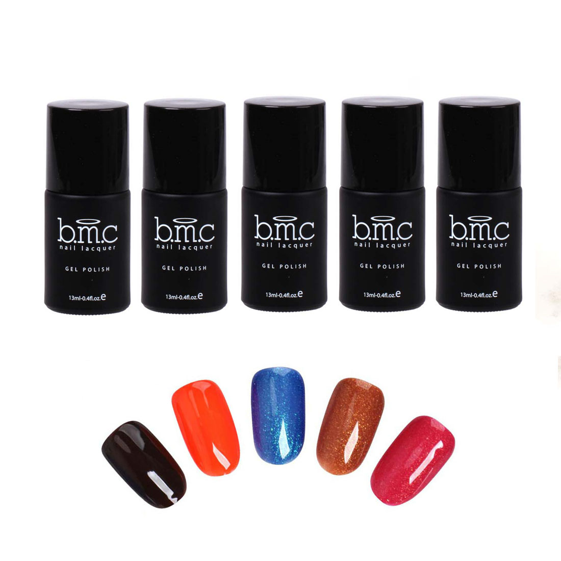 BMC Thermal Effect Color Changing Nail Lacquer Gel Polish - Awakening Collection