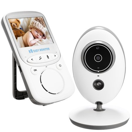 video baby infant monitor wireless digital camera with night vision two way talk long range smt. Black Bedroom Furniture Sets. Home Design Ideas