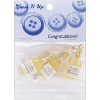 Jesse James 7332705 Dress It Up Embellishments-congratulations!