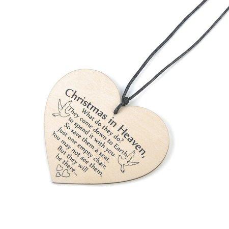 100mm Wooden Hanging Gift Plaque Pendant Heart Shape Friendship Wine Bottle Decor Pendant Tags LOVE Wood Chip - image 3 de 6