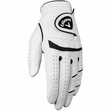 Callaway Men's Apex Tour Gloves-Right Hand-White-ML