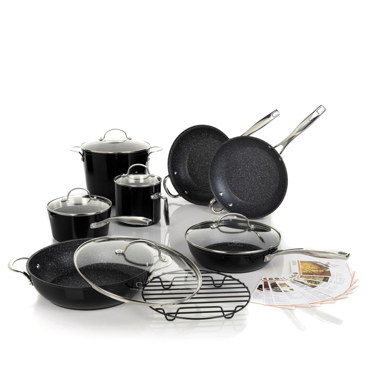 Curtis Stone DuraPan Nonstick 13-piece Chef's Cookware Se...
