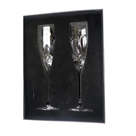 Waterford Crystal True Love Flute 2 Pieces Waterford Crystal Martini Glasses