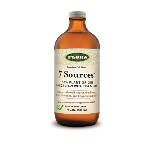 Flora 7 Sources Omega 3 6 9 With Epa Dha 17 Oz Walmart Com
