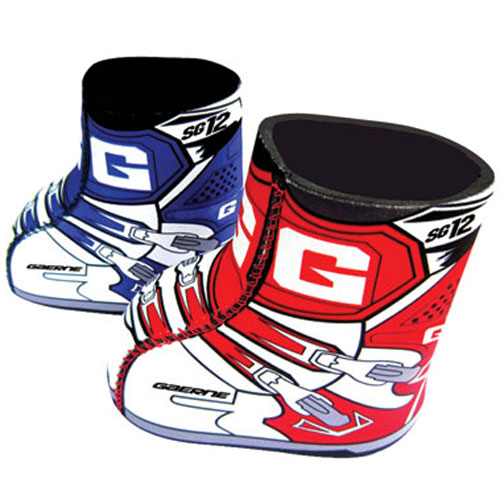 Smooth Industries Gaerne SG-12 Boot Can/Bottle Coolers 2pk White/Red/Blue