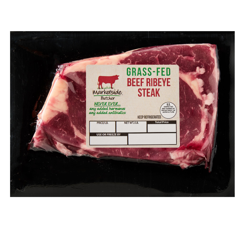 Marketside Butcher Grass-Fed Beef Ribeye Steak, 0.5-1lb