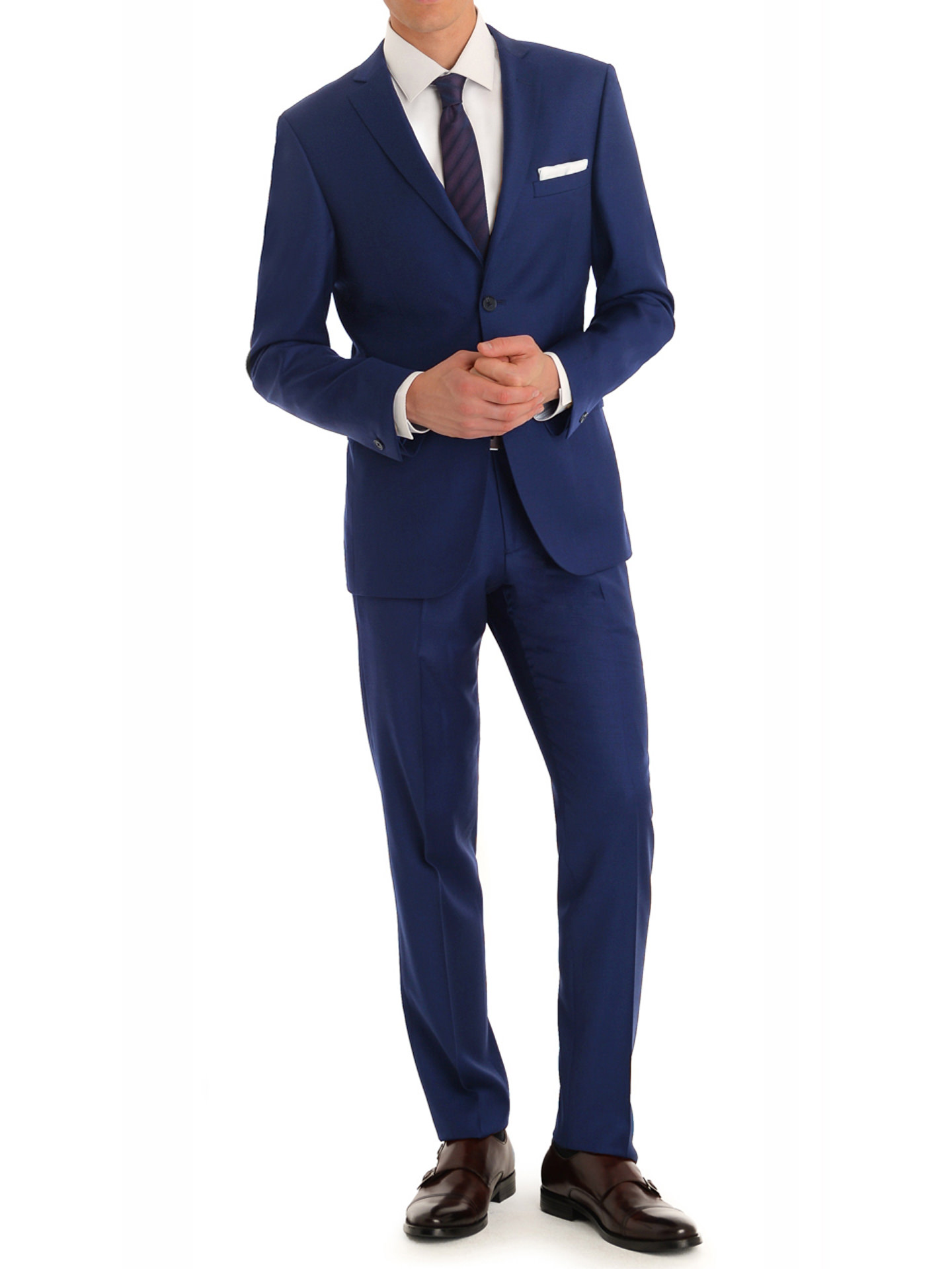 MDRN Uomo Men's Slim Fit 2PC Suits