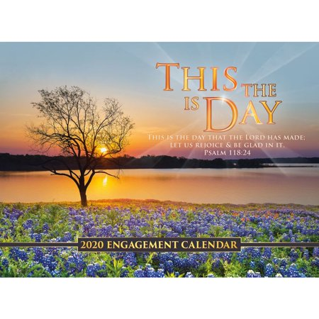 Smith Southwestern This Is The Day Wall Calendar Printed on High Quality FSC Certified Paper with Full Color Pages - 12 (Strange Days At Blake Holsey High Full Episodes)