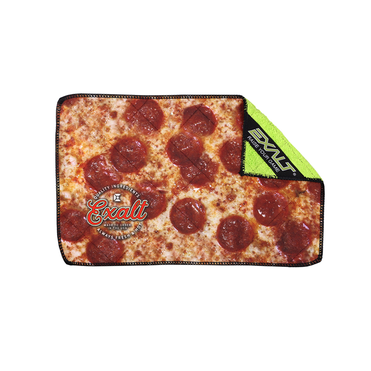 Exalt Paintball Microfiber Goggle Cloth Player Size Pepperoni Pizza by Exalt