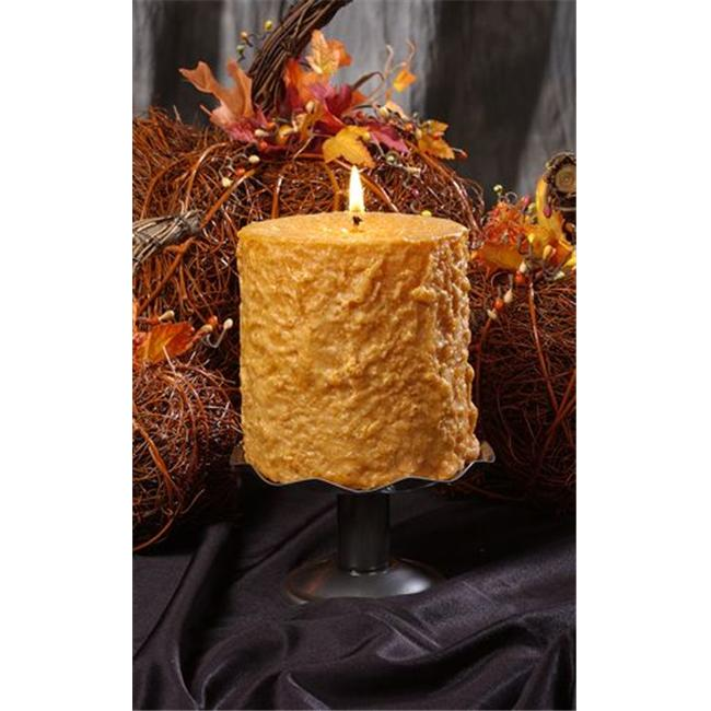 Hearth & Home Traditions 20011 4x4.5 Cake Candle - Pumpkin Spice