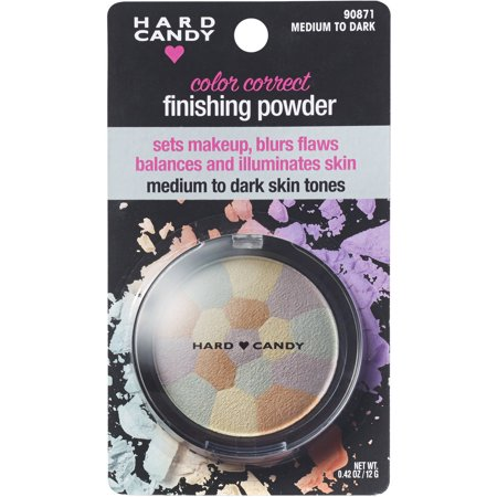 Hard Candy Color Correct Finishing Powder, Medium to Dark Skin Tones, .42