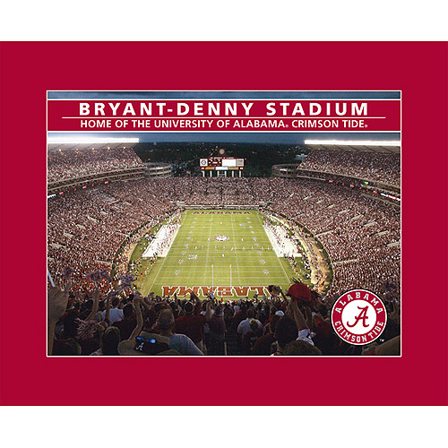 NCAA Stadium Puzzle, Alabama Crimson Tide